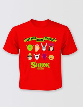 Shrek Freak Flag T-Shirt - Kids