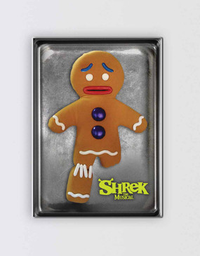 Shrek Magnet - Gingerbread