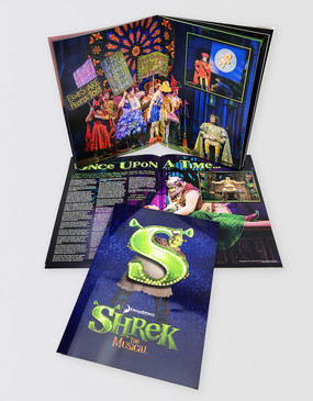 Shrek Souvenir Program