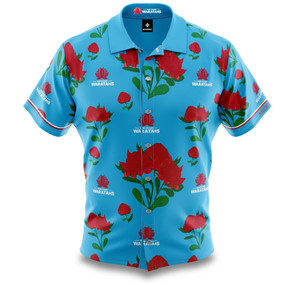 NSW Waratahs Adults Hawaiian Shirt