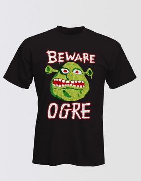 Shrek Beware Ogre T-Shirt - Adults Unisex