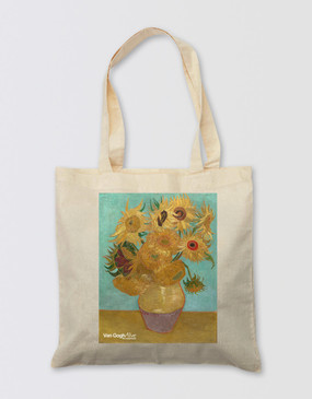 Van Gogh Tote Bag - Sunflowers