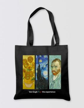 Van Gogh Tote Bag - Panels