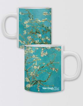 Van Gogh Coffee Mug - Almond Blossoms