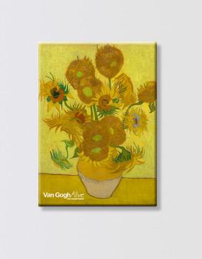 Van Gogh Magnet - Sunflowers