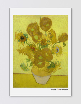 Van Gogh A2 Poster - Sunflowers
