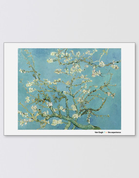 Van Gogh A2 Poster - Almond Blossoms