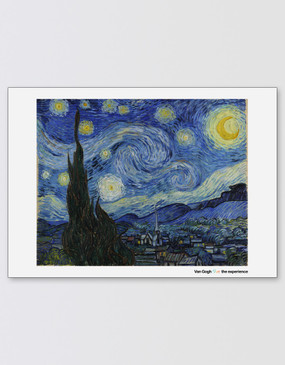 Van Gogh A2 Poster - Starry Night