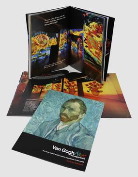 Van Gogh Alive Souvenir Program