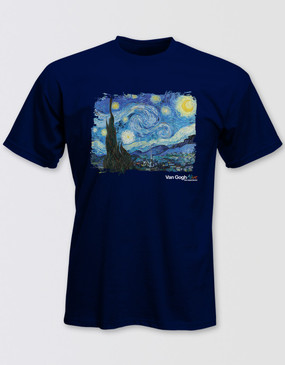 Van Gogh Starry Night T-Shirt - Unisex