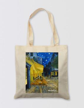Van Gogh Tote Bag - Café Terrace