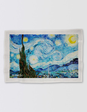 Van Gogh Tea Towel - Starry Night