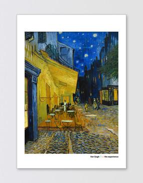 Van Gogh A2 Poster - Café Terrace