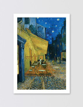 Van Gogh Postcard - Café Terrace