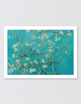 Van Gogh Postcard - Almond Blossoms