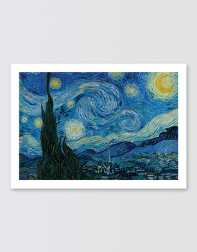 Van Gogh Postcard - Starry Night
