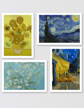 Van Gogh Postcards - Set of 4