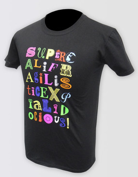 Mary Poppins Supercal Tee - Adults