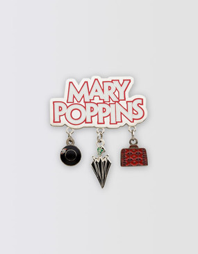 Mary Poppins Charm Lapel Pin