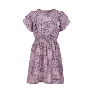 Creamie | Dress Leaf Print | 4y-14y | 821155-6808