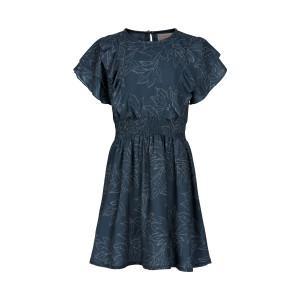 Creamie | Dress Leaf Print | 4y-14y | 821155-7850