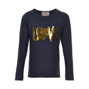 Creamie | T-Shirt Sequin Ls | 4y-14y | 821173-7850