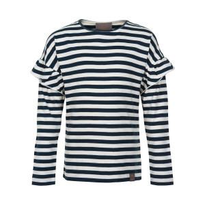 Creamie | T-Shirt Stripe Ls | 4y-14y | 821180-7850
