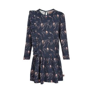 Creamie | Dress Swan Print | 4y-14y | 821234-7850