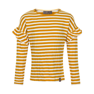 Creamie | T-Shirt Stripe Ls | 4y-14y | 821249-3948