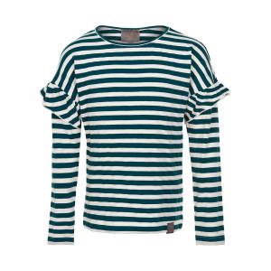Creamie | T-Shirt Stripe Ls | 4y-14y | 821249-9411