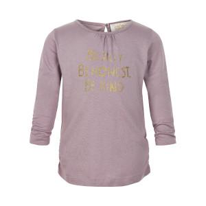 Creamie | T-Shirt Gold Print Ls | 12m-24m | 840132-6808
