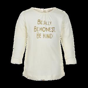 Creamie | T-Shirt Gold Print Ls | 3y-6y | 840132T-1103