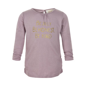 Creamie | T-Shirt Gold Print Ls | 3y-6y | 840132T-6808