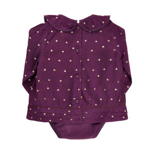 Me Too | Shirt Ls W/Body -Woven  | N-18m | 610770-7760