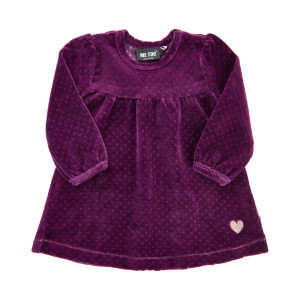 Me Too | Dress Ls Velour | N-18m | 610781-7760