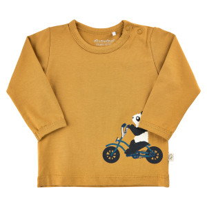 Minymo | T-Shirt Ls Front Print | N-18m | 111091-2310