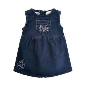 Minymo | Dress Ns Sweat Denim | N-18m | 111156-7988