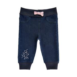 Minymo | Pants Sweat Denim | N-18m | 111174-5906