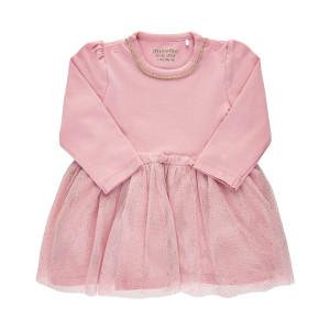 Minymo   Dress Ls Tulle   N-18m   111191-5906