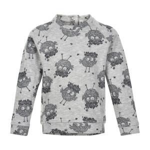 Minymo | Sweatshirt Ls Aop | 12m-24m | 121091-1230