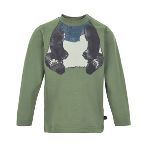 Minymo | T-Shirt Ls Printt | 12m-24m | 131084-9212