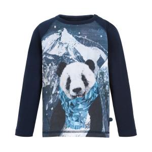 Minymo | T-Shirt Ls Print | 12m-24m | 131089-7555
