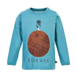 Minymo | T-Shirt Ls Print | 12m-24m | 131144-8087