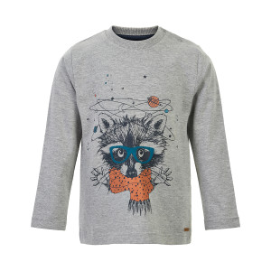 Minymo | T-Shirt Ls Print | 12m-24m | 131149-1380
