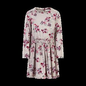 Minymo | Dress Ls Flower Printt | 4y-14y | 141095-1703