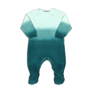 Coccoli French Terry | Lap Neck Footie | 1m-18m | PAF4732-284