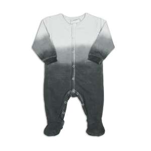 Coccoli French Terry | Button Down Footie | 1m-18m | PF4722-294