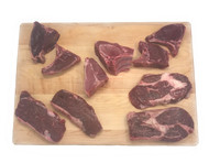 Wild Game Variety Pack - Bison Ribeye, Bison New York Strip, Elk, Venison, Wild Boar  - Free Shipping