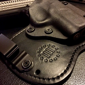 Keyhole Holsters - Kydex Hybrid Holster for IWB and OWB