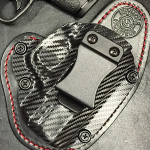 Keyhole Holsters - Kydex Hybrid Holster for IWB and OWB concealed carry